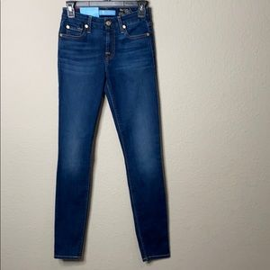 7 For All Mankind B Air Ankle Skinny Jeans